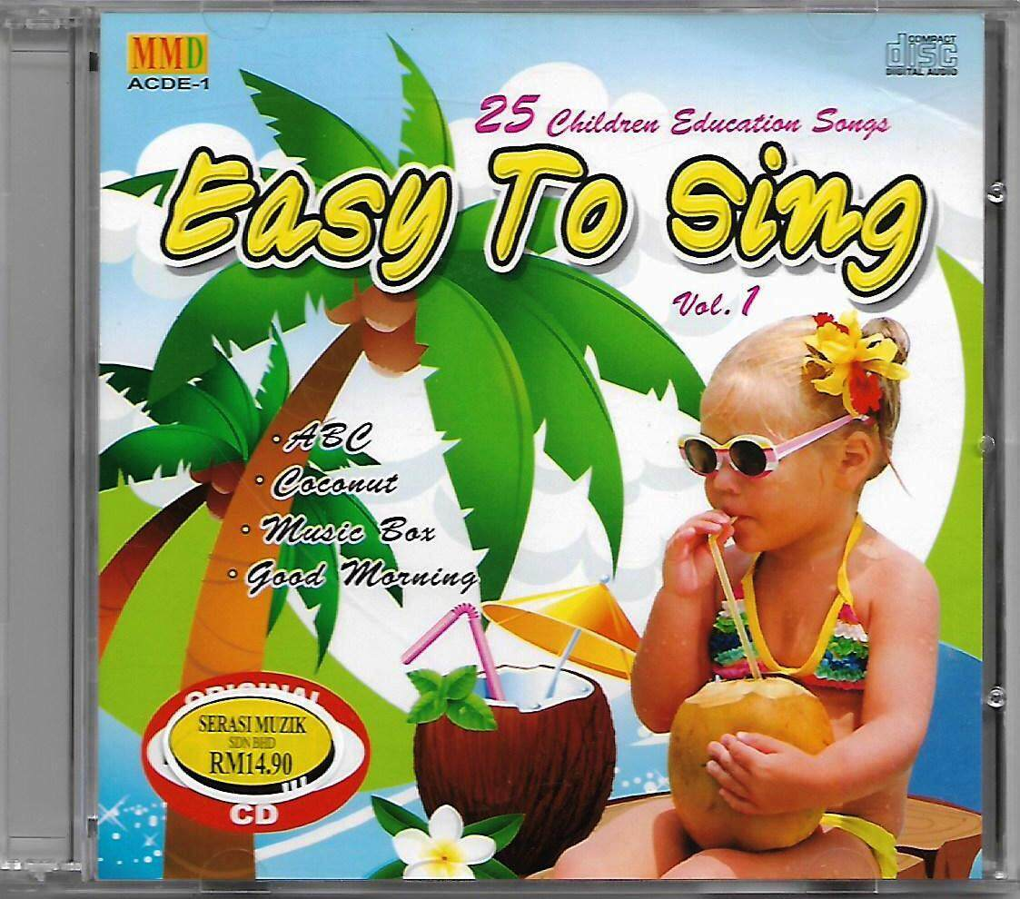 25 Children Education Songs Easy To Sing Vol.1 CD