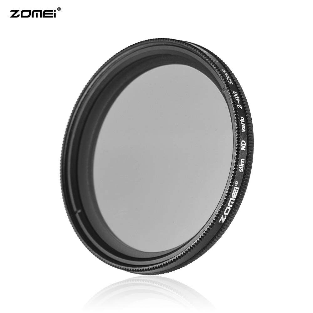 ZOMEI 52mm Ultra Slim Variable Fader ND2-400 Neutral Density ND Filter Adjustable ND2 ND4 ND8 ND16 ND32 to ND400 for Nikon D5300 D5200 D5100 D3300 D3200 D3100 DSLR Cameras