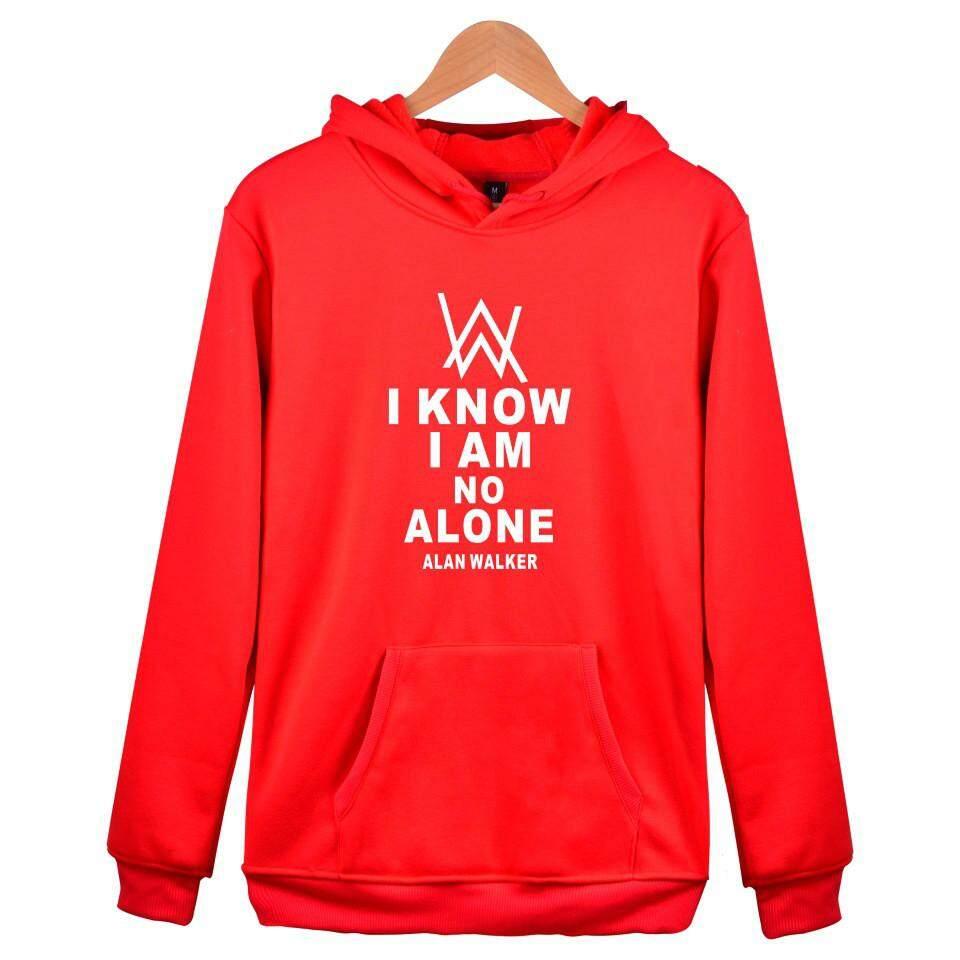 2018 Alan Walker good quality men and women DJ Hoodie Sweater Alan Walker Faded Jacket Men