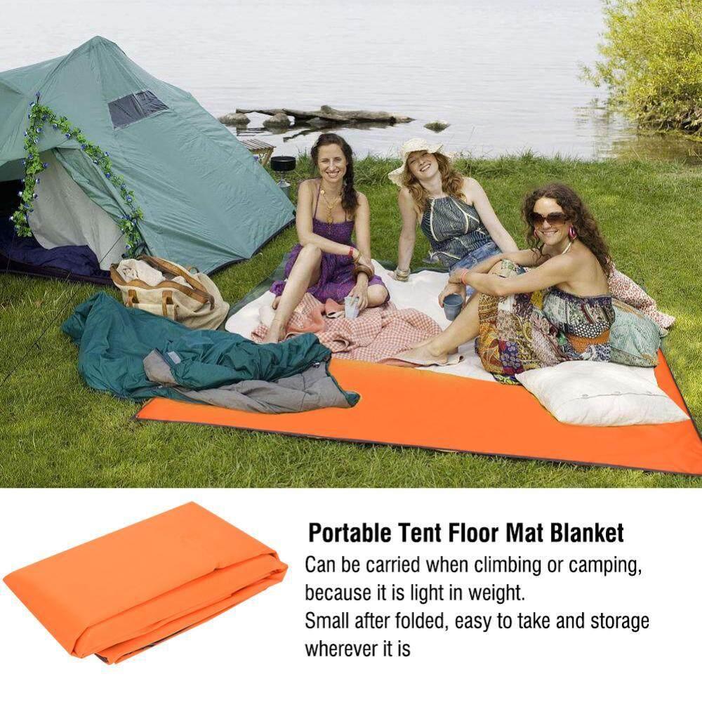 Tenda Camping Berkemah Rumah Hellokitty Sedang Outdoor Tahan Air Portabel Alas Lantai Selimut Untuk Bbq Piknik Oranye