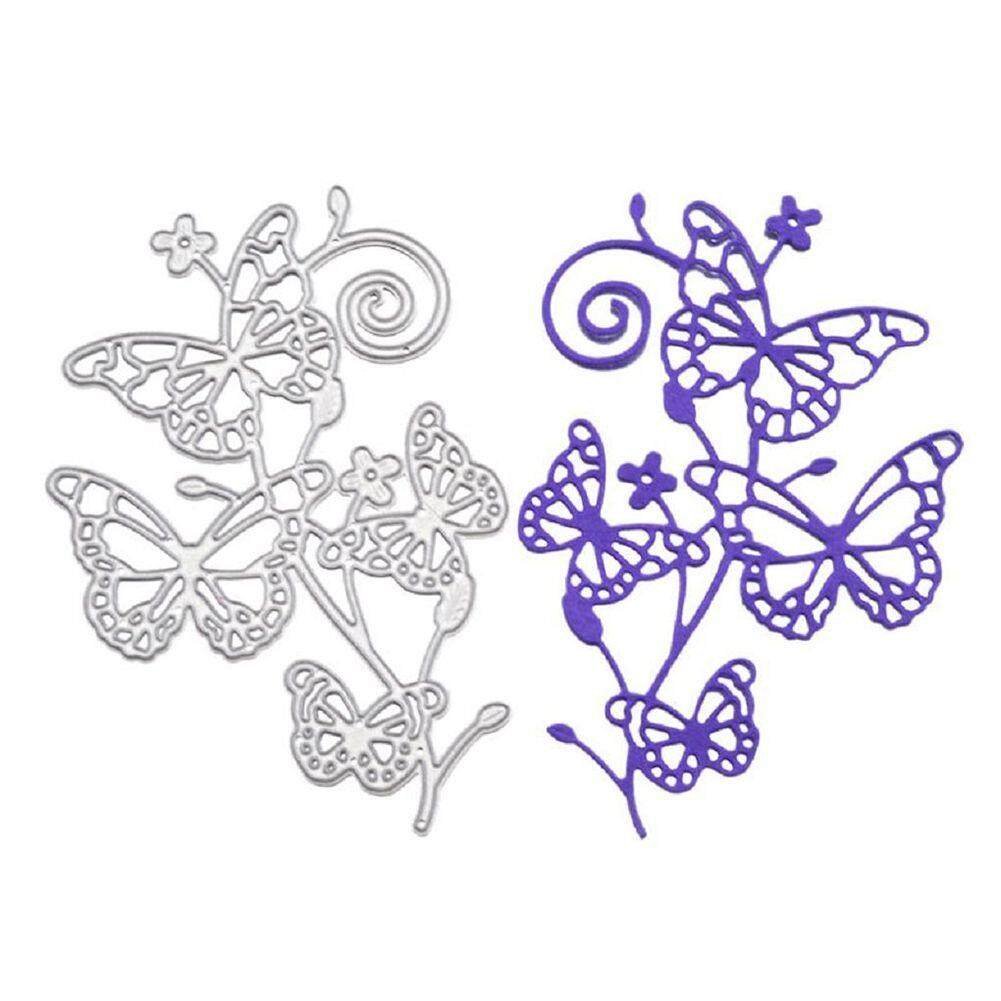 Metal Cutting Dies Stencil Template For Diy Scrapbook Album Paper Card Craft Decoration (butterfly) - Intl By Sunnny2015.