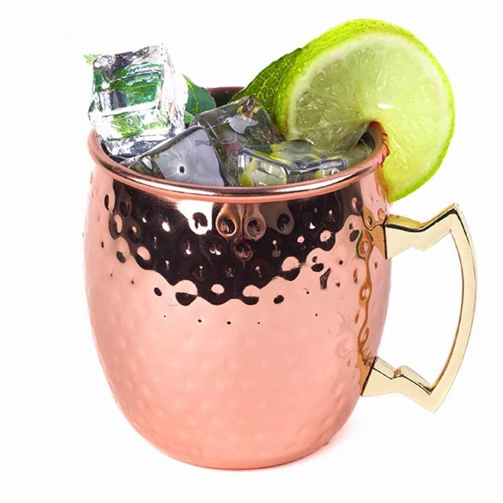 4PCS Stainless Steel Hammer Point Mugs Drinking Cup Perfect for Cocktails Iced Tea Beer Decoration Specification:4pcs - intl