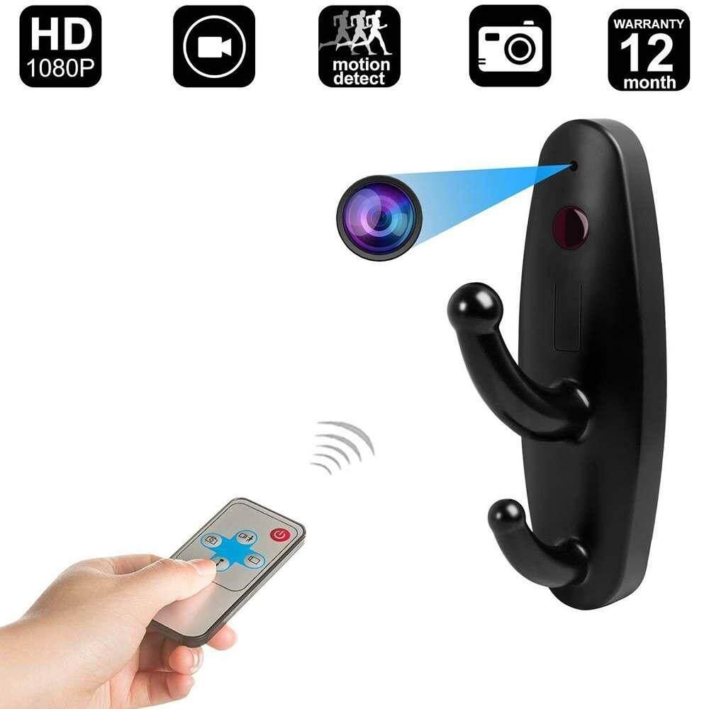 Buy Sell Cheapest Hook Kamera Pengawas Best Quality Product Deals Mini Gantungan Baju Spy Cam Clothes Sway Dv Dvr Perekam Video Remote Deteksi Gerakan Tersembunyi
