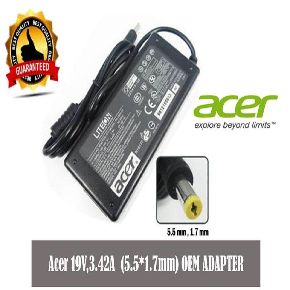 Acer Laptop/Notebook Charger Adaptor (19V 3.42A (5.5*1.7mm) Malaysia