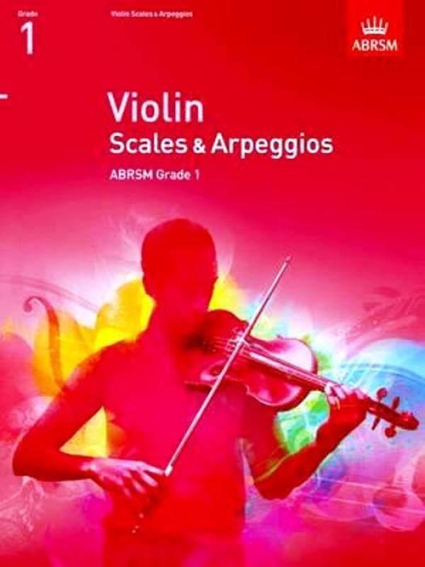 ABRSM Violin Scales & Arpeggios Grade 1 Malaysia