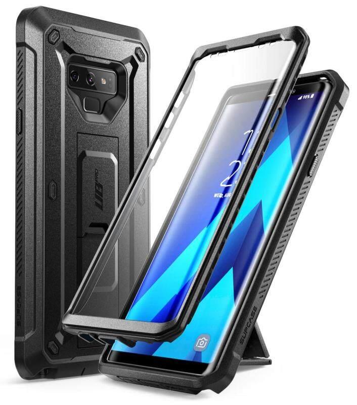 Giá For điện thoại Samsung Galaxy Note 9 Case Ốp Lưng BẢO VỆ SUPCASE PC + TPU Chắc Chắn có Nắp Đậy Bảo Vệ Màn Hình & Chân Đế & bao da Kẹp
