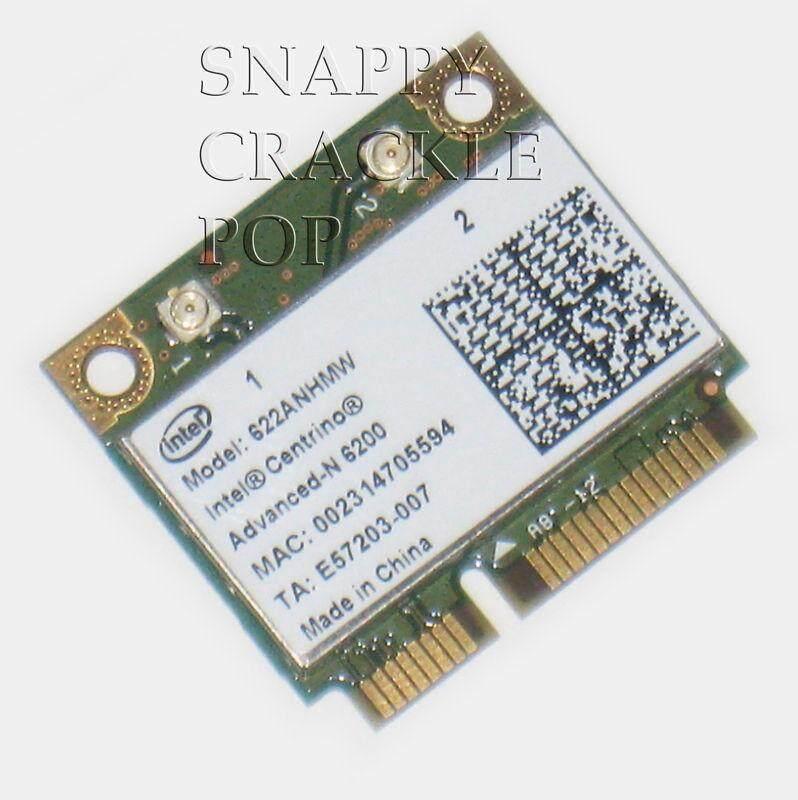 FOR Dell Alienware Advanced N Wireless Card M11x M14x M17x M18x WLAN WIFI Dual Band - intl
