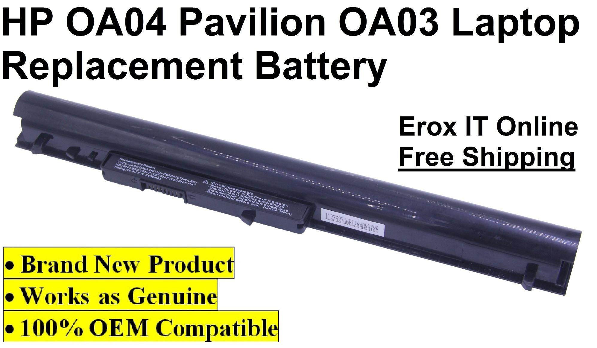 OEM Replacement Laptop Battery for HP Pavilion 14-R036TU /OA04 Battery Malaysia