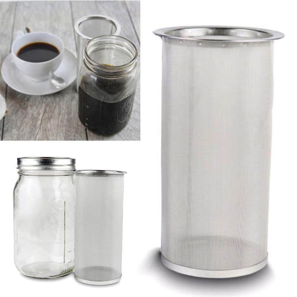 Detail Gambar Silinder Minuman Dingin Kopi Teh Es Infuser Baja Anti Karat Filter Terbaru