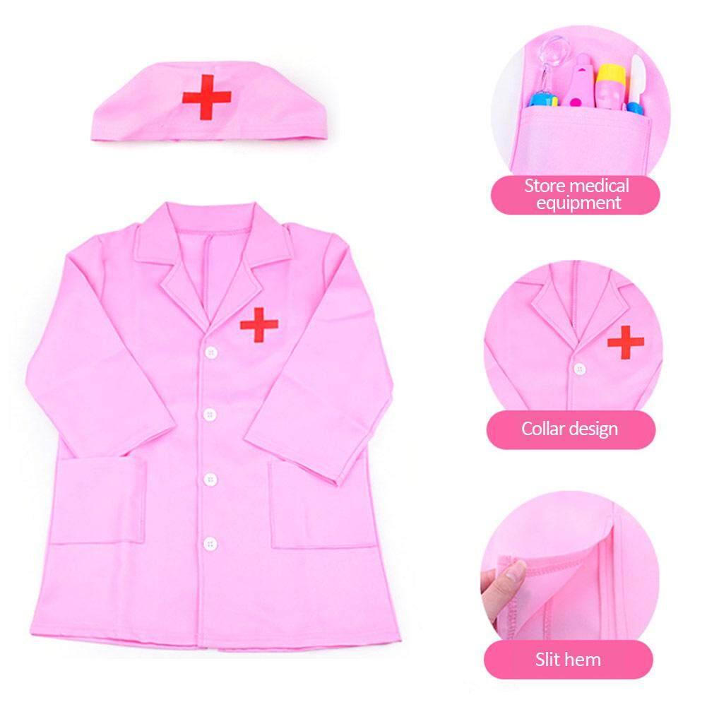 Ryt Pakaian Anak-Anak Peran Kostum Permainan Dokter Keseluruhan Gaun Putih Seragam Perawat Mainan By Ryder Yi Trading.
