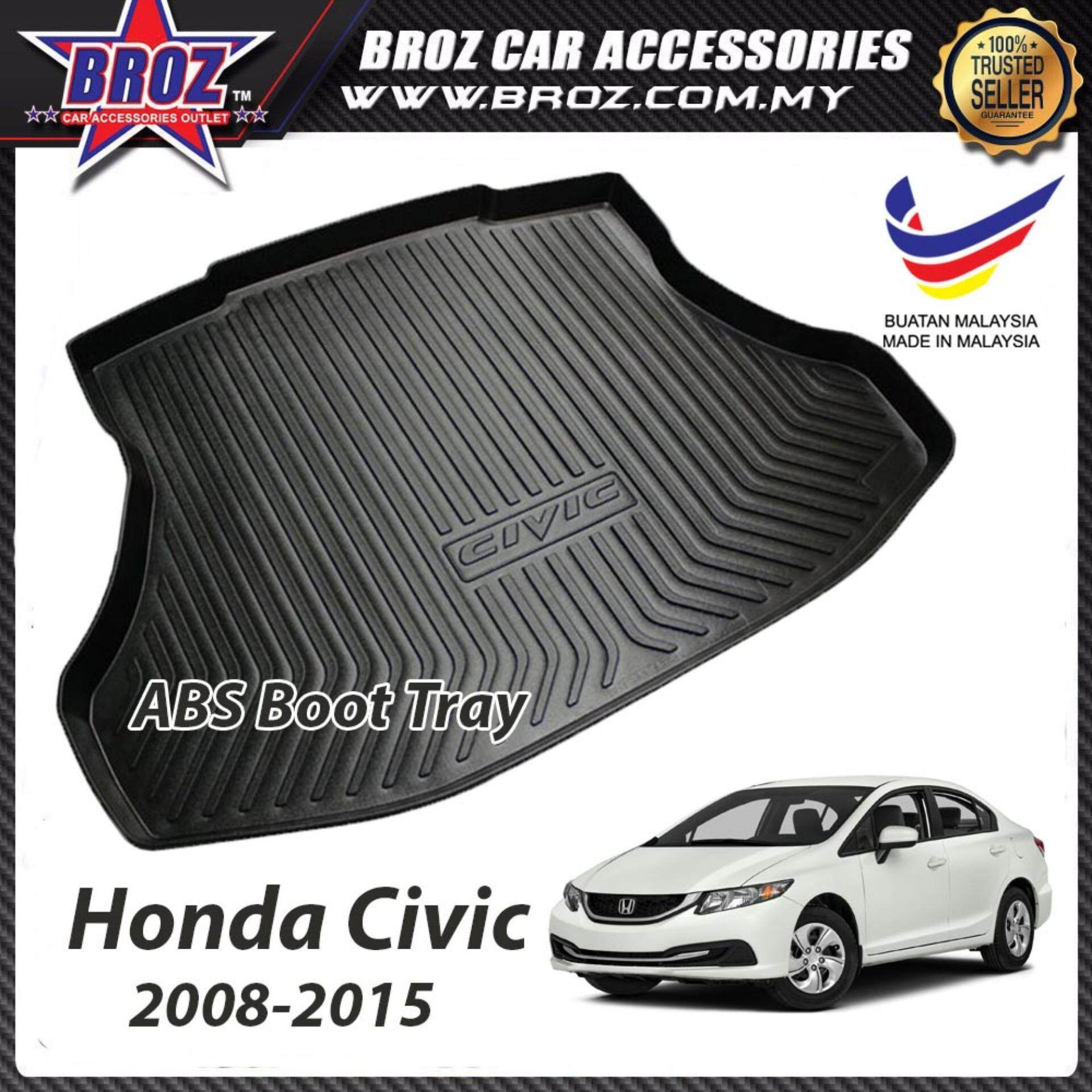 Honda Civic 2008-2015 ABS Car Rear Boot Trunk Tray