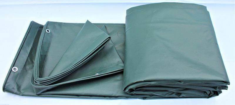 Lorry Canvas Green 6 ft x 9 ft PVC Tarpaulin Vinylon Ready Made Heavy Duty Cover Lorry Canvas Outdoor Waterproof Construction Slope Protection Awning Hardware Canopy Tent Extension Kanvas Lori Hijau 6 kaki x 9 kaki Khemah Kanopi Perisai Kalis Air