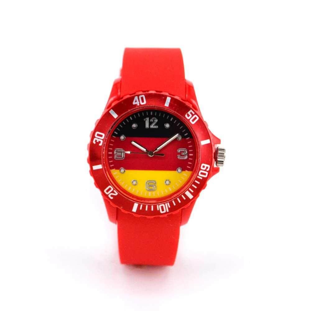 Buy Sell Cheapest Red Dial 2018 Best Quality Product Deals Jam Tangan Analog Rhombus Plate Woman Black Huyia Piala Dunia Bendera Pola Gelang Silikon Piringan Kuarsa Lembut Jerman