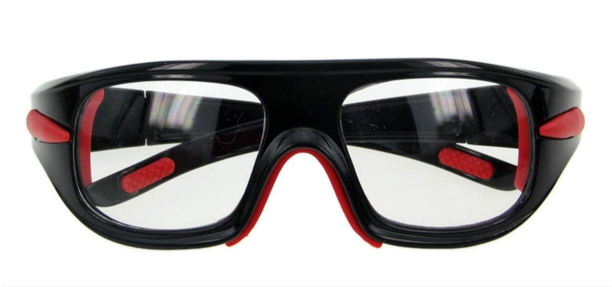 a1fe0497baa6 Basketball Soccer Football Sports Protective Eyewear Goggles UV Eye Glasses  Gift Red and Black