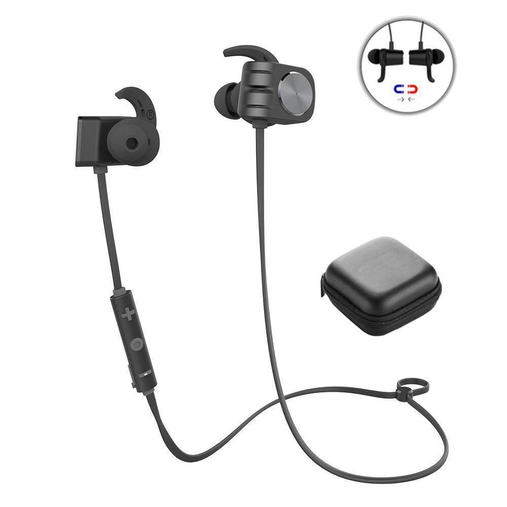 Orzbuy Earphone Magnetis Tahan Air Earphone Bluetooth Tahan Air, IPX5 Headphone Tahan Air, Bass