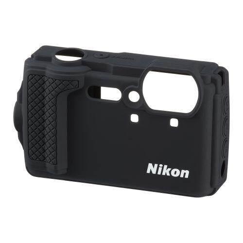 Nikon silicon jacket CF-CP3 BK black (for Nikon digital camera COOLPIX W300) - intl