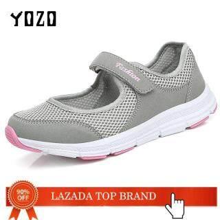 Giày Nữ YOZO Giày Dành Cho Phụ Nữ Cao Tuổi Giày Đi Bộ Thoáng Khí Lưới Chống Trượt Giày Thể Thao Nữ Mềm Mại Đi Thường Ngày thumbnail