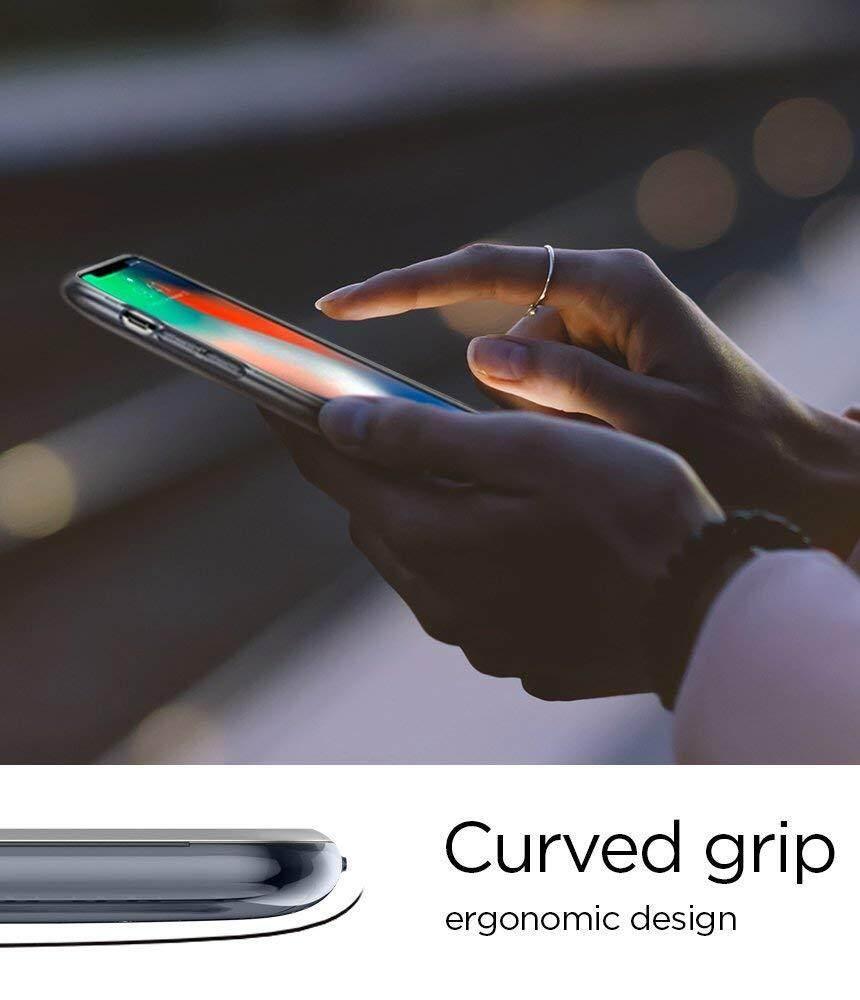 Features Spigen Classic C1 10th Anniversary Limited Edition Iphone X Case One Aluminium Original Gray Graphite 4