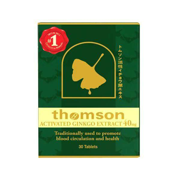 Thomson Ginkgo 40mg 30s