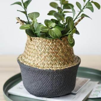 Đánh giá Pliable Fleur Panier Bambou Plante Jardin Vêtement Lavage Stockage  Rangement Pot ở đâu bán 32e695a084c