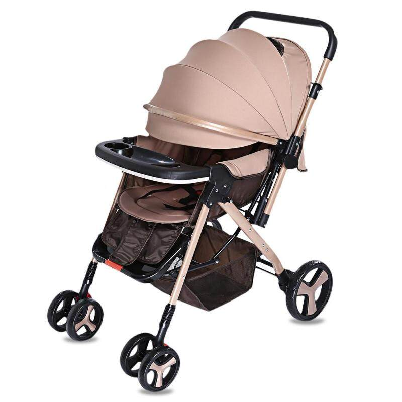 MoonSater YA - 2305 Multifunctional Stroller Baby Cart with Brake System Universal Casters - intl Singapore