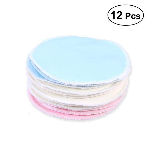 12pcs Bamboo Makeup Remover Pads Reusable Soft Facial and Skin Care Wash Cloth Pads Philippines