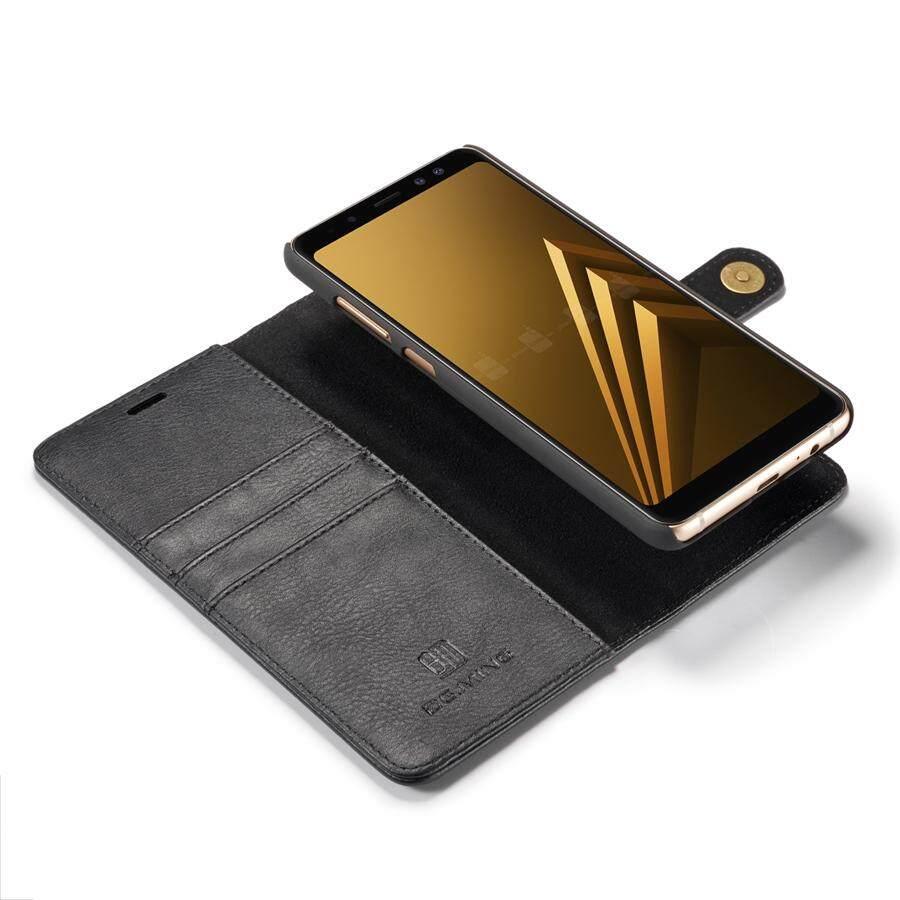 Fitur Dg Ming Leather Wallet Case Fundas Luxury Flip Cover For