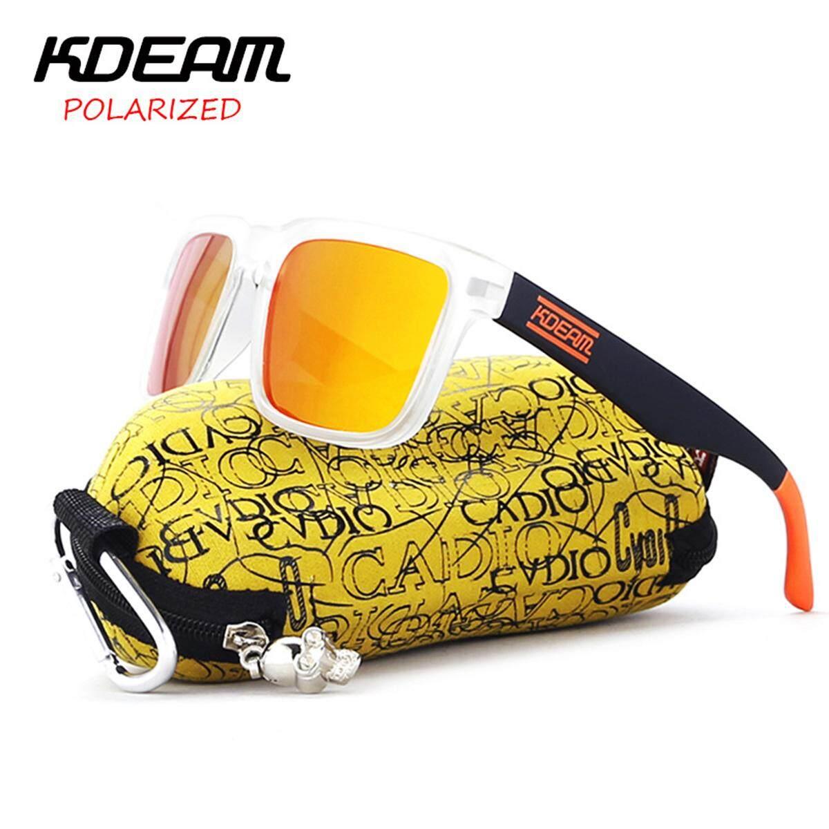 df0237894738ac KDEAM Men Women Polarized UV400 Sunglasses Sport Driving Fishing Cycling  Eyewear - intl