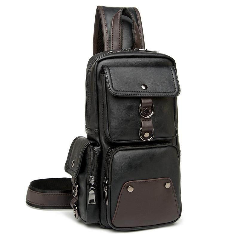 d9394f2e54 TF New FASHION Small chest bag Korean version Leisure Japan and South Korea  Oblique Outdoor Shoulder
