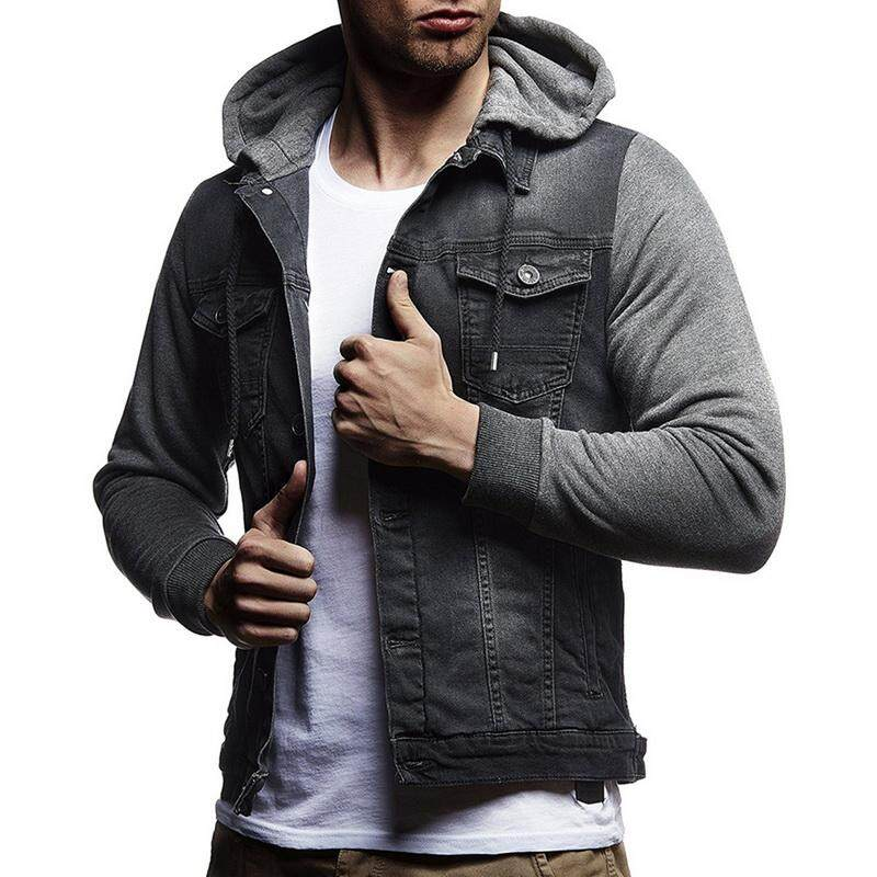 55b5a4ce7f2 Brand New Men Jeans Jackets Men Hooded Autumn Winter Coat For Male High  Quality Fashion Classic