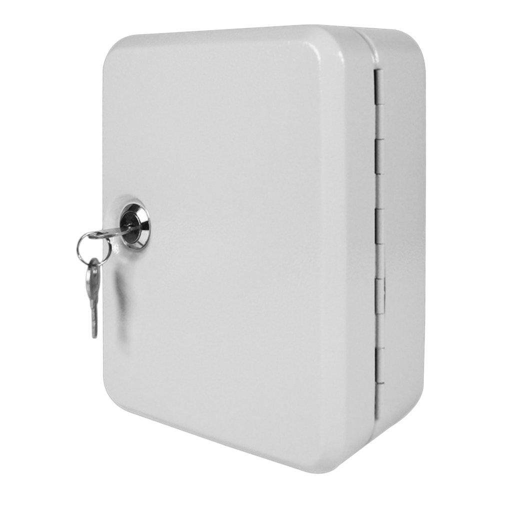 ELEC 20 Tags Fobs Wall Mounted Lockable Security Metal Key Cabinet Box Storage Case - intl