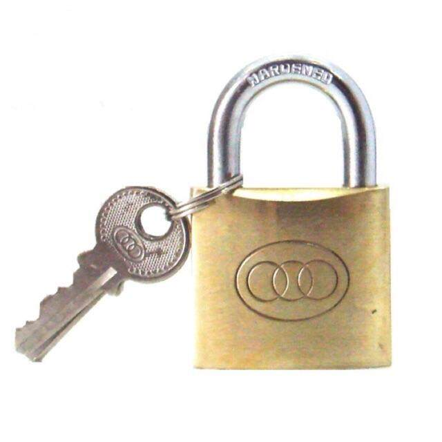 TRI-CIRCLE BRASS PAD LOCK (TRICIRCLE)