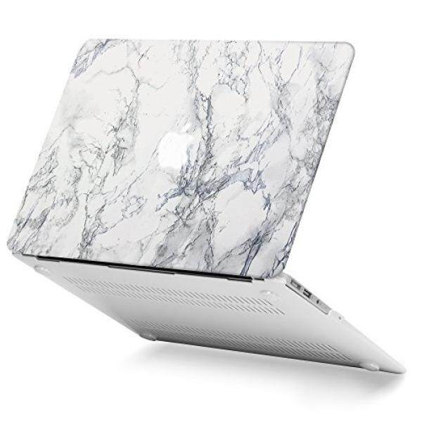 GMYLE White Marble Macbook Air 13 inch case Soft-Touch Matte Plastic Scratch Guard Cover for Macbook Air 13 inch (Model: A1369 & A1466) - intl