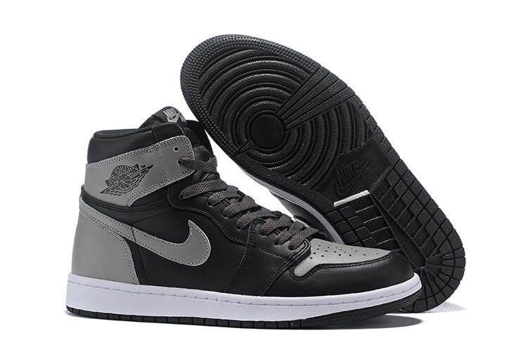 Nike Resmi Stiker Michael Jordan 1 Pria Basketaball Sepatu Penjualan Global  AJ MJ Kuning Hitam AIR 78a9962a62