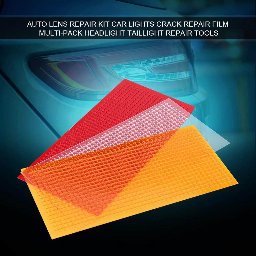 Auto Lens Repair Kit Car Lights Crack Repair Film Multi-Pack Headlight Taillight Repair Tools By 1buycart