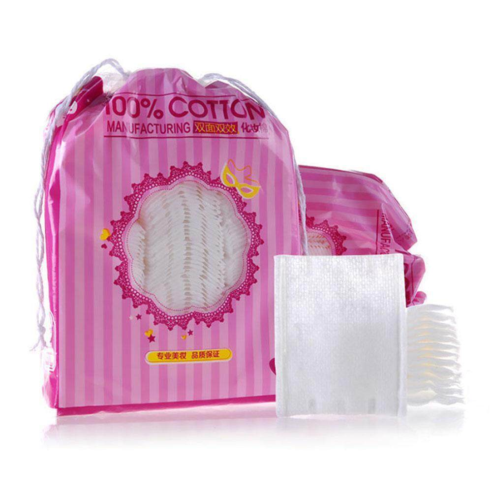 Fortunet Makeup Cotton High Quality Pure Cotton Bag Cotton Pad Double Side Discharge Makeup Cotton Thick Cotton 200 Tablets Biore - intl Philippines