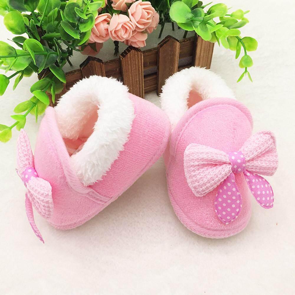 Cocol Max Balita Bayi Baru Lahir Sepatu Bowknot Sol Lembut Bot Bayi Sepatu Hangat By Cocolmax
