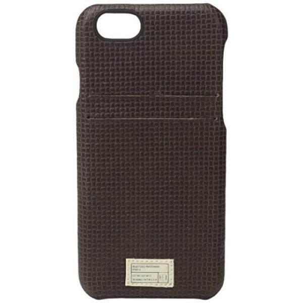 Hex Dompet Solo Case untuk iPhone 6-Coklat Woven-Intl