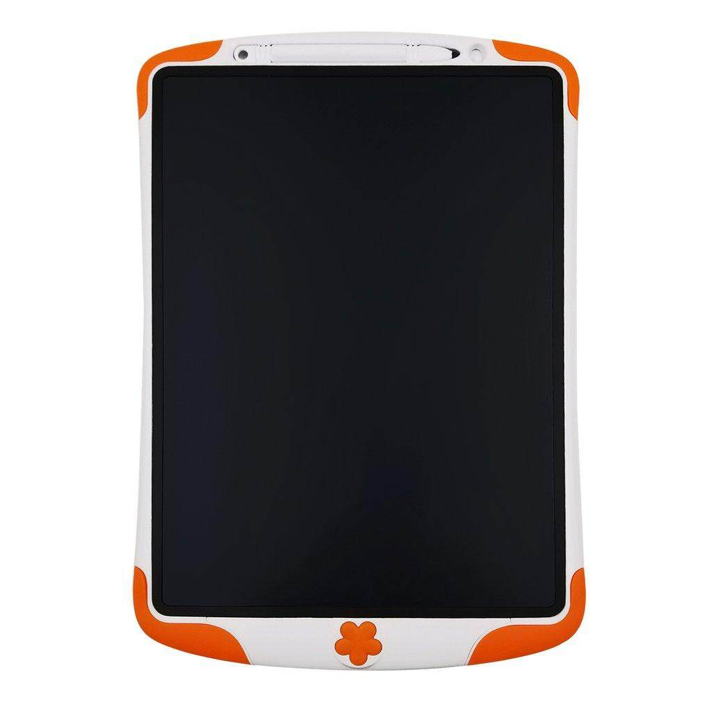 12 Inch LCD Writing Tablet Portable Digital Drawing Tablet For Adults Children orange - intl