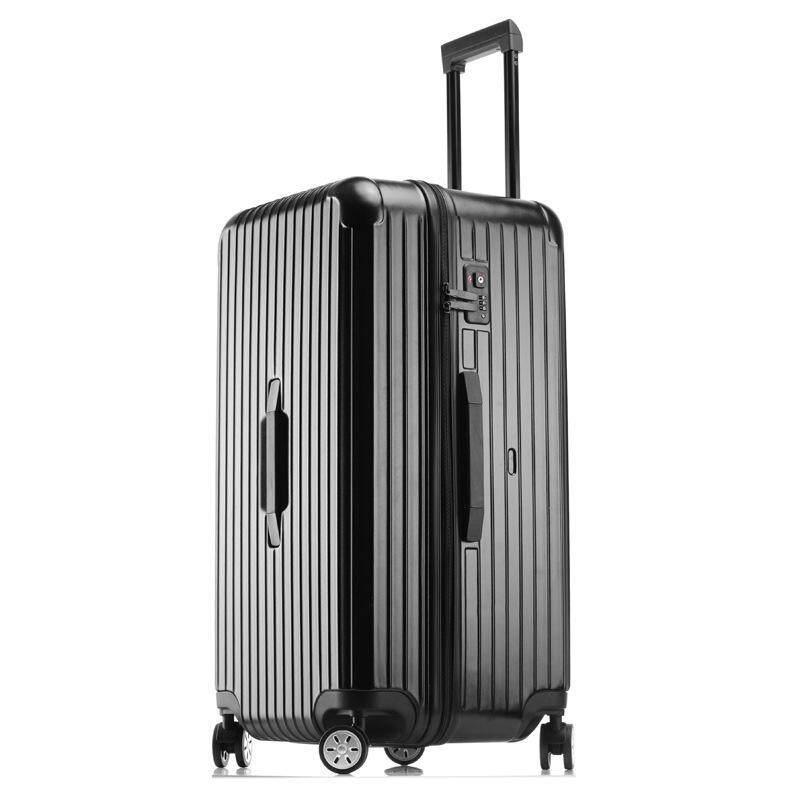 Aluminum-Magnesium Alloy Trolley Luggage Caster Travel Case