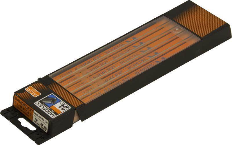 Bahco 3906-300-18-100 HSS Bi-Metal Hacksaw Blades 12 Inch x 18TPI (100 Blades) VALUE PACKAGE