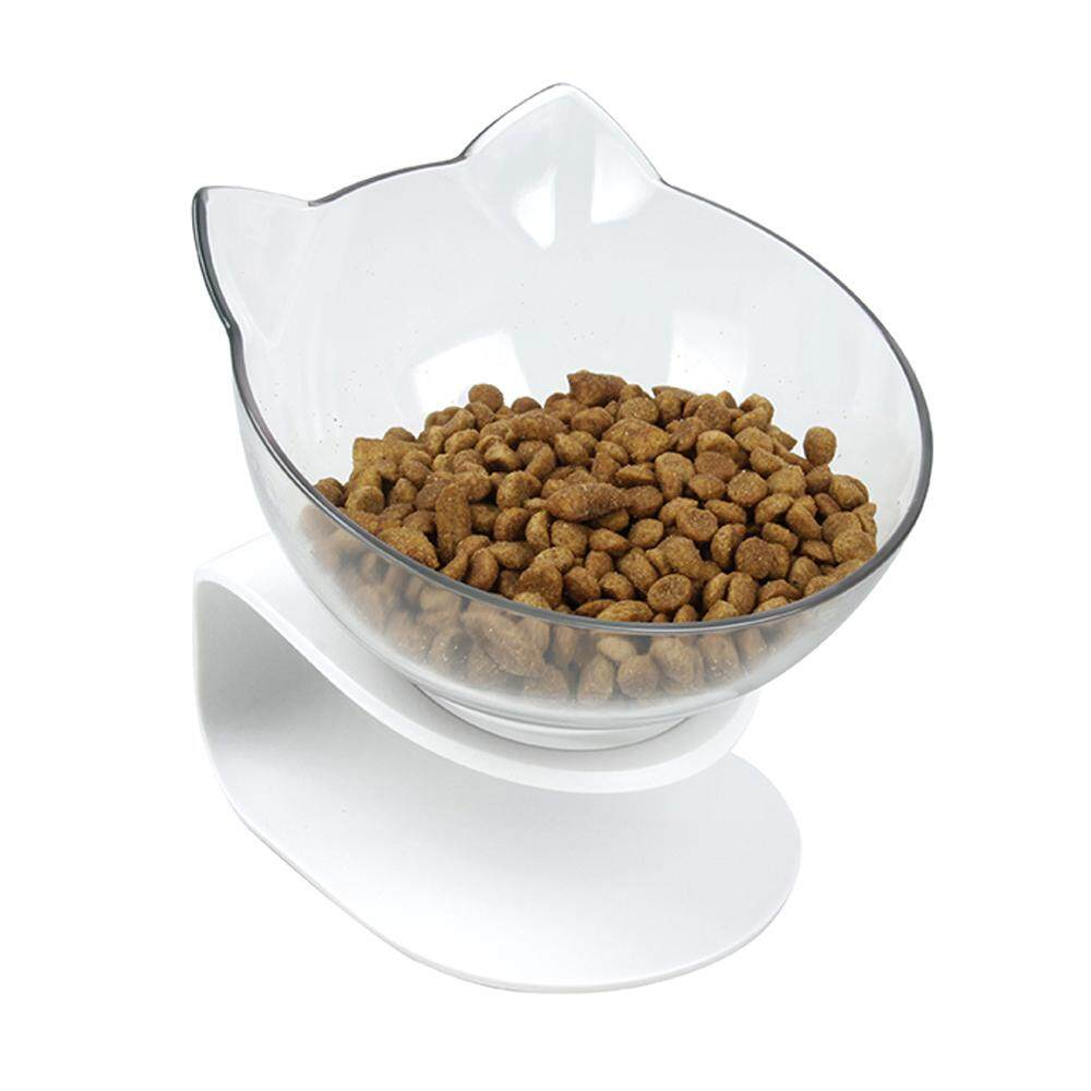 Pethouzz Slanted Cat Food Bowl Raised Stand Pet Bowls For Cats And Small Dogs - Intl By Pet Houzz.