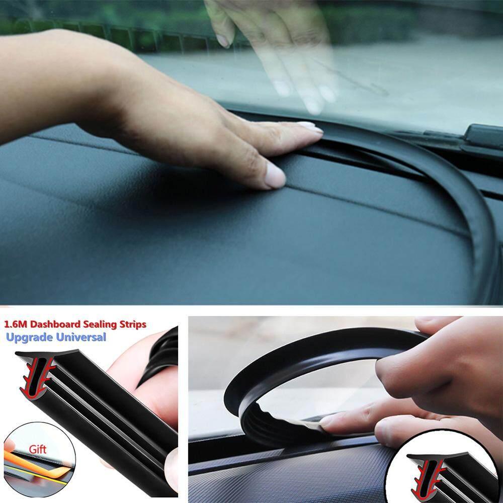 Fang Fang 1.6m U Type Universal Car Rubber Soundproof Strip Dashboard Edges Sealing Strips By Fangfang_719.