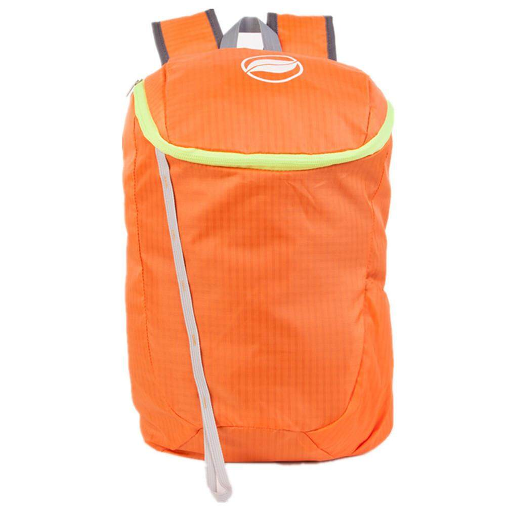 Sunfield 18l Nylon Waterproof Ultra-Light Backpack Bag For Outdoors - Orange By Uni-Shop.