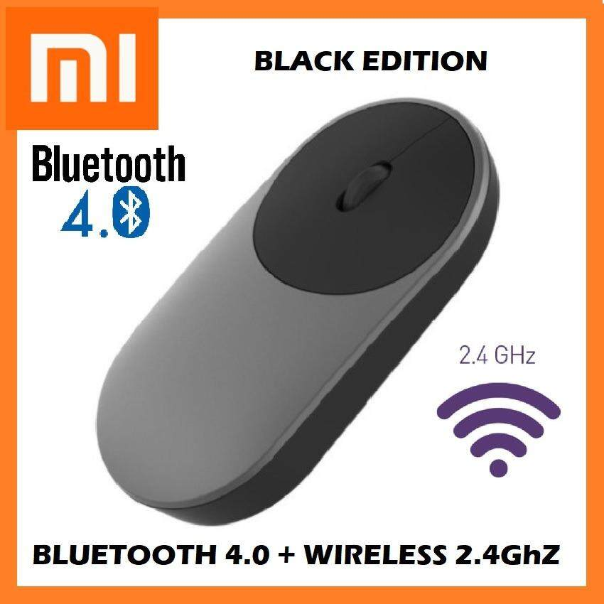 [GENUINE] 2018 XIAOMI Mi Portable Mouse Bluetooth + 2.4G Wireless Aluminium Dual Mode Laptop Desktop Malaysia