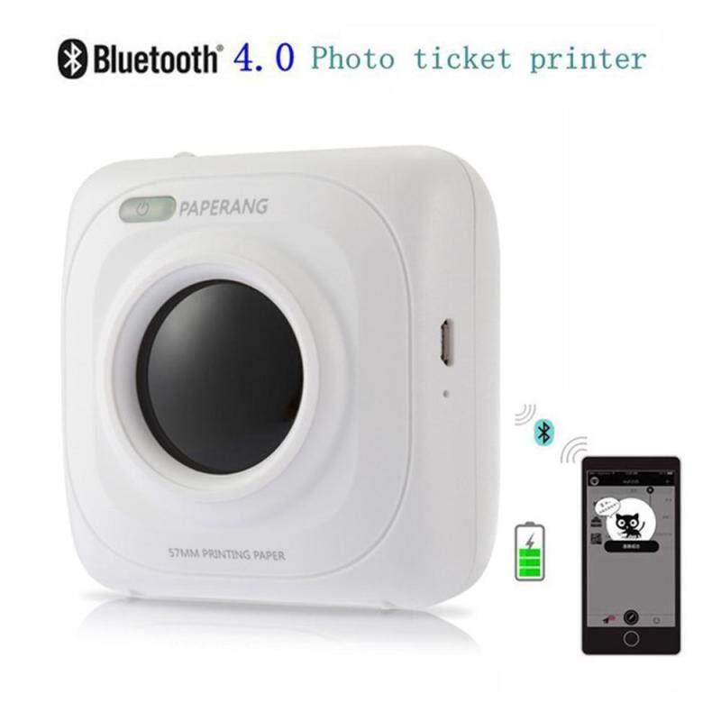 vigo P1 Portable Bluetooth 4.0 Thermal Photo Printer Wireless Connection - intl