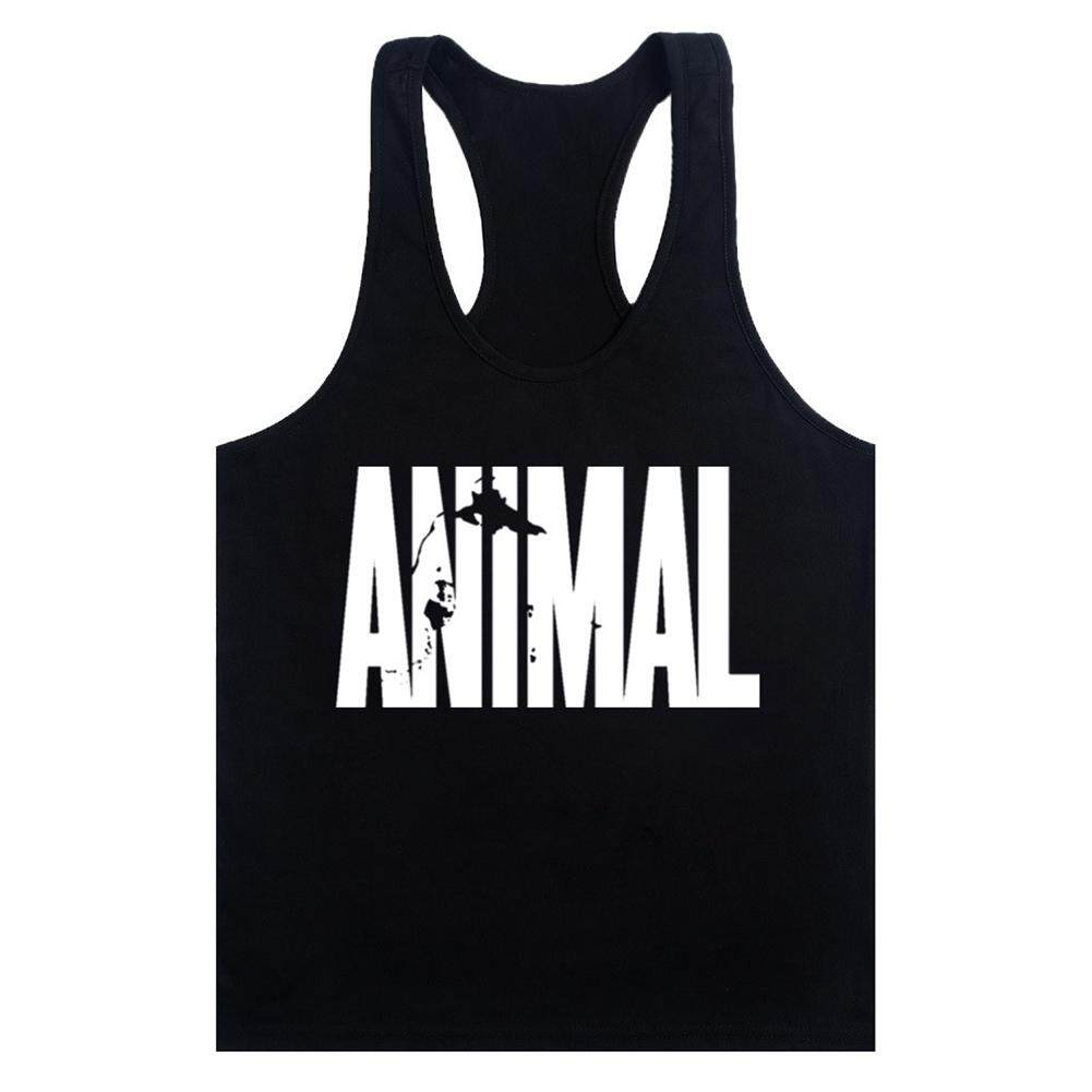 041cc462 Men Boys Gym Muscle Sleeveless Round Neck T-shirt Tank Top Bodybuilding  Sport Fitness Vest