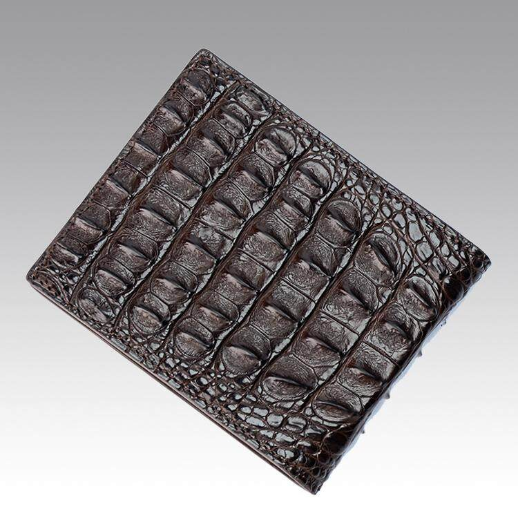 eae9e7576cd Jranter/Jranter Crocodile Money Male Short Leather duo ka wei Cross  Handmade Wallet Small Wallet