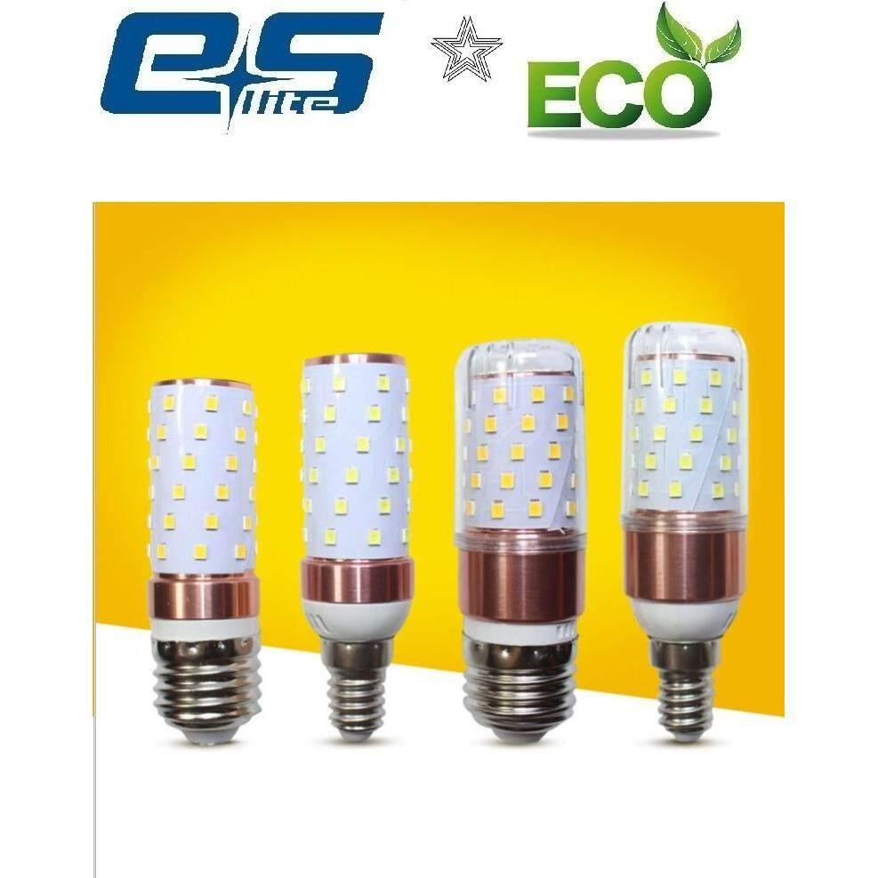 10 pcs ES Lite LED dichromatic corn light bulb 8w+8w E14