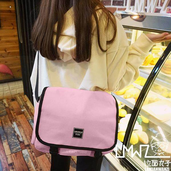 [PRE-ORDER] Women Student Messenger Canvas Bag